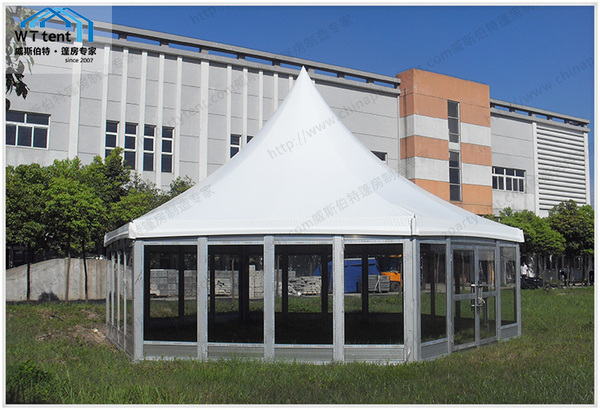 玻璃多邊形篷房